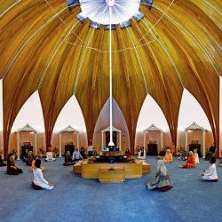 Meditation at LOTUS Shrine