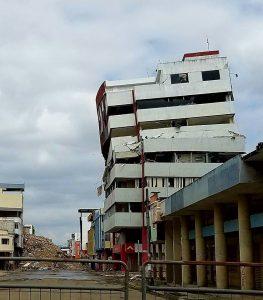 Earthquake-ravaged Pedernales